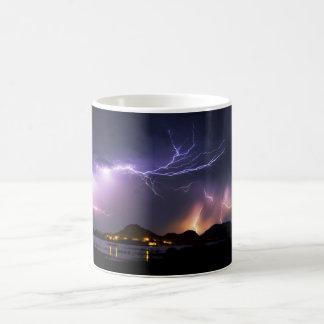 Het Panorama van de bliksem Magische Mok