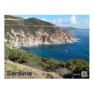 Het panorama van Sardinige Briefkaart