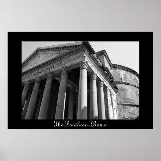 Het pantheon, het Poster van Rome