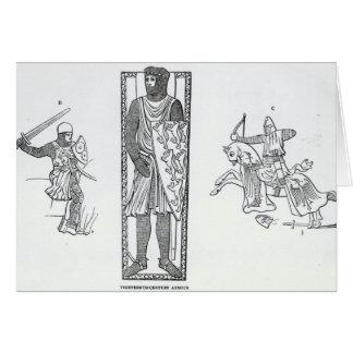 Het pantser van de dertiende-eeuw briefkaarten 0