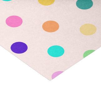 Het papieren zakdoekje van de confettienstippen tissuepapier