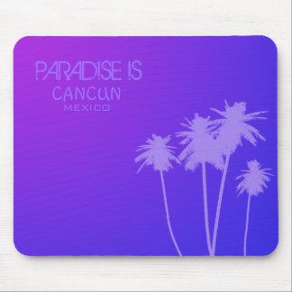 Het paradijs is Mousemat Muismatten