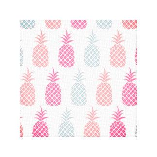 Het Paradijs van de ananas Canvas Afdruk
