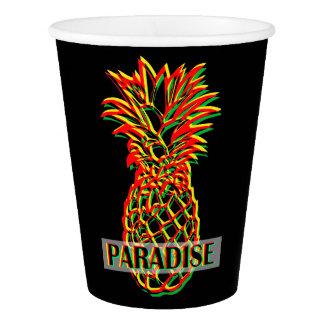 Het Paradijs van de ananas Papieren Bekers