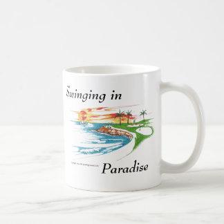 Het Paradijs van de golfspeler Koffiemok