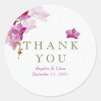 Het Paradijs van de orchidee dankt u Stickers