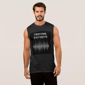 Het paranormale Sleeveless Mannen van Soundwave T Shirt
