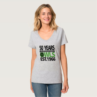 Het Park Dames V van de aanplanting van 50 Jaar - T Shirt