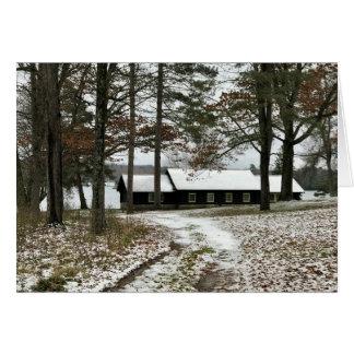 Het Park van de Staat van Bewabic, de Herfsten van Briefkaarten 0