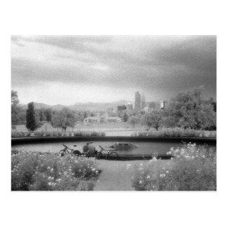 Het Park van de stad, Denver, Colorado Briefkaart