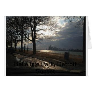Het Park van het Eiland van de schoonheid, de Wenskaart