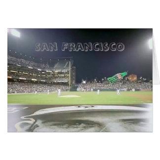 Het Park van het honkbal, San Francisco Kaart