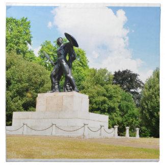Het park van Hyde in Londen Katoenen Servetten