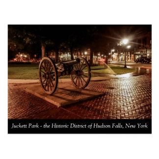 Het Park van Juckett in historische Herfsten Briefkaart