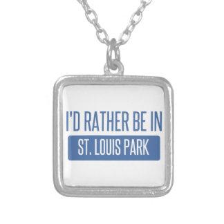 Het Park van St.Louis Zilver Vergulden Ketting