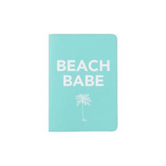 Het paspoorthouder van Babe van het strand Paspoort Houder