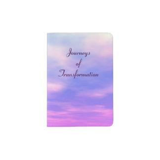 """Het paspoorthouder van """"reizen van Transformatie"""" Paspoort Houder"""