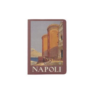 Het paspoorthouder vintage van Napoli (Napels) Paspoort Houder
