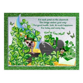 Het Pasteitje van Maddie St van de buldog u heeft Briefkaart
