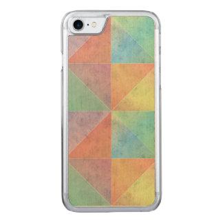 Het pastelkleur Gekleurde Geometrische Art. van de Carved iPhone 8/7 Hoesje