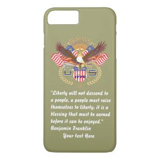Het patriottische Kaki Bos van de Vrede iPhone 8/7 Plus Hoesje