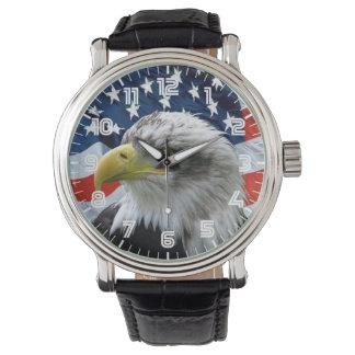 Het patriottische Kale Horloge van de Vlag van