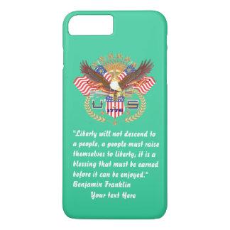 Het patriottische Zee van Forest Green van de iPhone 8/7 Plus Hoesje