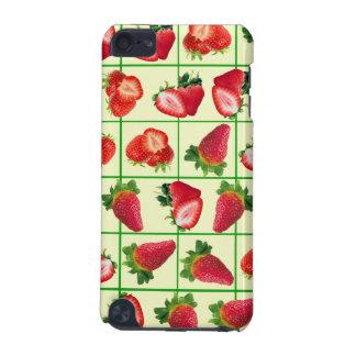 Het patroon van aardbeien iPod touch 5G hoesje