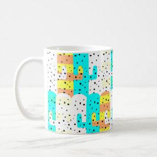 Het patroon van cactussen koffiemok