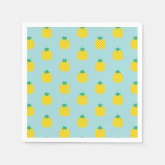 Het Patroon van de ananas Papieren Servet