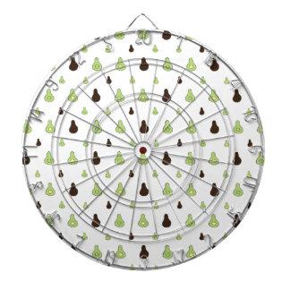 Het Patroon van de avocado Dartbord