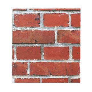 Het Patroon van de baksteen Notitieblok