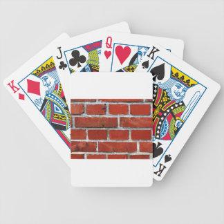 Het Patroon van de baksteen Poker Kaarten