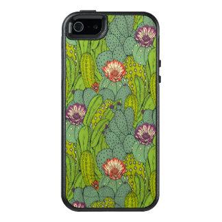 Het Patroon van de Bloem van de cactus OtterBox iPhone 5/5s/SE Hoesje
