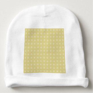Het Patroon van de Bloem van de citroen Baby Mutsje