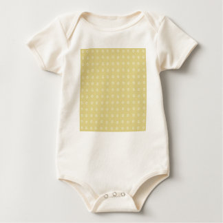 Het Patroon van de Bloem van de citroen Baby Shirt