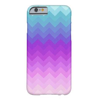 Het Patroon van de Chevron van Ombre van de Barely There iPhone 6 Hoesje