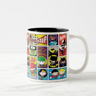Het Patroon van de Compilatie van de Liga van de Tweekleurige Koffiemok