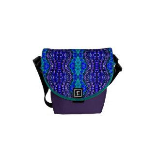 het patroon van de de hippie tiedye deken van koni messenger bags