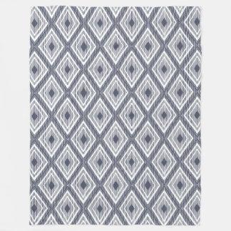 Het patroon van de diamant op de deken van de