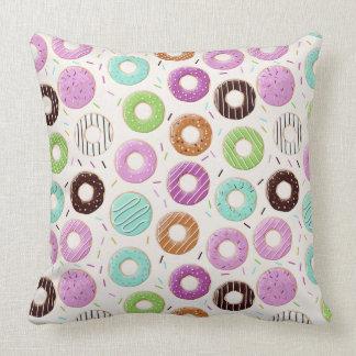 Het Patroon van de doughnut werpt kussen