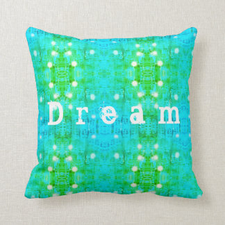 Het patroon van de droom sierkussen