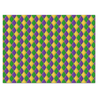 Het Patroon van de Druk van de Harlekijn van de Tissuepapier
