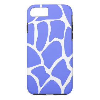 Het Patroon van de giraf in het Blauw van de iPhone 7 Hoesje