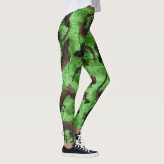 Het PATROON van de HAGEDIS door Slipperywindow Leggings