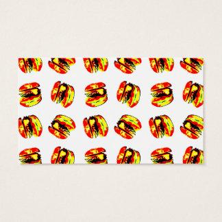 Het Patroon van de hamburger Visitekaartjes