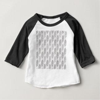 Het patroon van de herfst baby t shirts