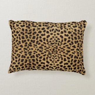 Het Patroon van de Huid van de luipaard Accent Kussen