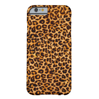 Het patroon van de jachtluipaard barely there iPhone 6 hoesje