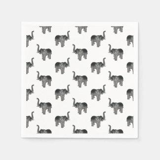 Het Patroon van de olifant Wegwerp Servet